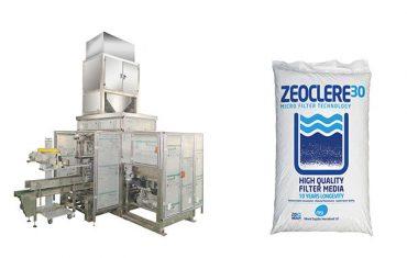 пълна автоматична голяма торба, която се използва за опаковане на сол