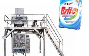 4 глави линеен теглър перилни препарати пране машина за опаковане