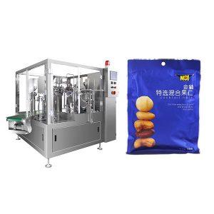 Автоматично запълване Уплътняване опаковъчна машина за твърди прах или твърдо