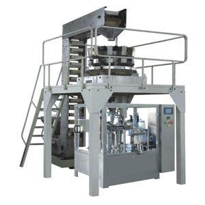 Автоматично премиране на гранули за пълнене и запечатване на производствена линия