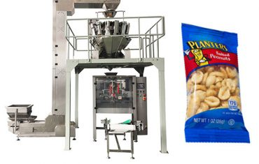 автоматична машина за опаковане на храна за закуски