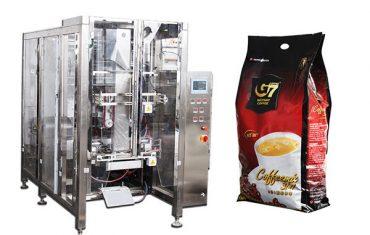 кафе квадратна чанта форма пълнене печат опаковъчна машина