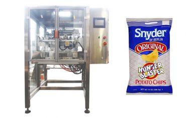 непрекъснато движение вертикална закуска храна гранула опаковъчна машина