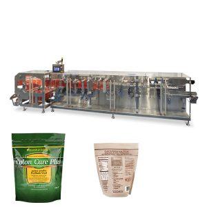 Doypack прахообразна гранула опаковка хоризонтална машина за запълване на уплътнения