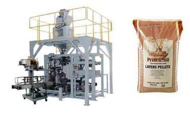 фуражна зърнена гранула тежка машина за опаковане на торби