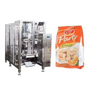 Пълна автоматична храна Quad печат чанта опаковъчна машина