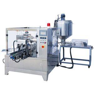 Пакетираща машина за опаковане на течен и паста за препариране