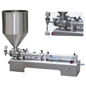 Единичен главен бутален пълнеж за вискозни течности
